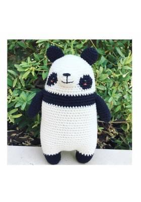 MUÑECO CROCHET OSO PANDA