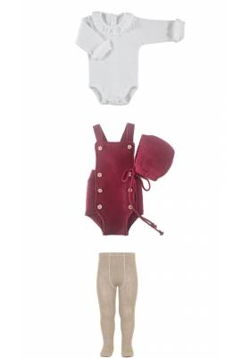 CONJUNTO BODY, PUNTO Y LEOTARDOS